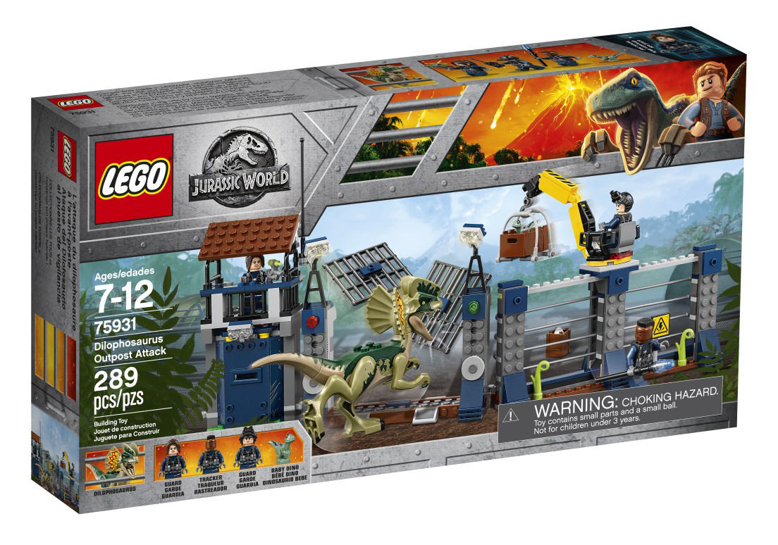 Jurassic World 75931 Dilophosaurus Outpost Attack