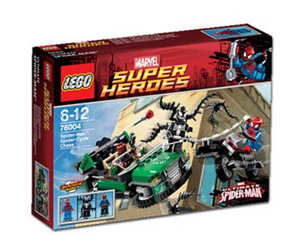 LEGO® Spider-Man Spider Cycle Chase 76004