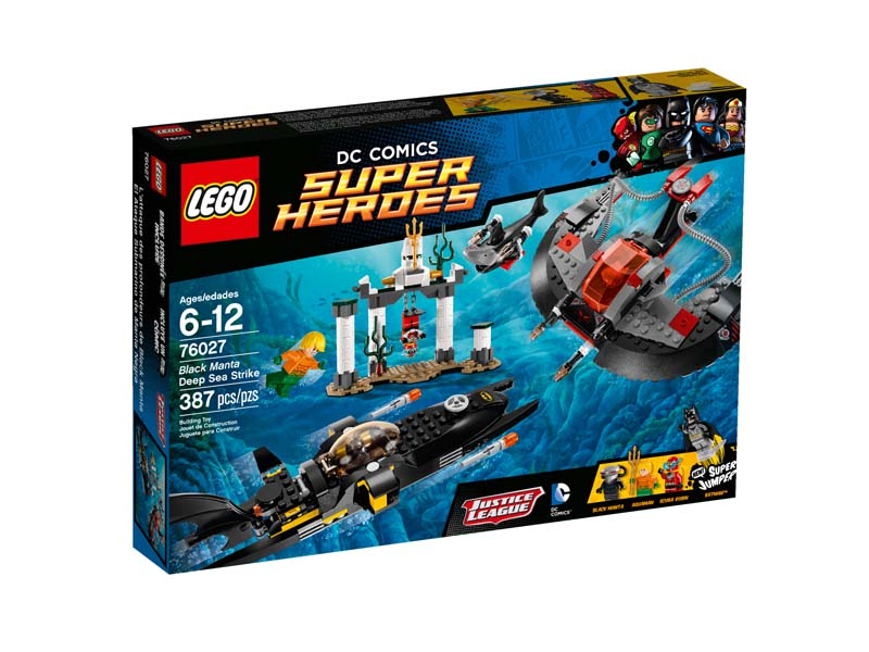 LEGO Super Heroes 76027 Black Manta Deep Sea Strike Dent