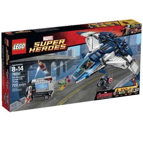 LEGO Super Heroes 76032 The Avengers Quinjet City Chase