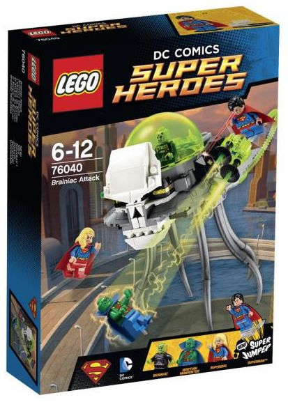 Super Heroes 76040 Brainiac Attack