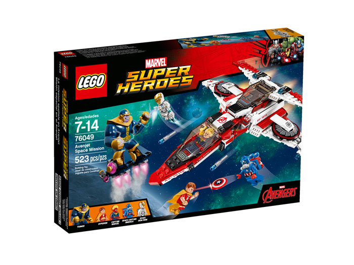 LEGO® Super Heroes 76049 Avenjet Space Mission