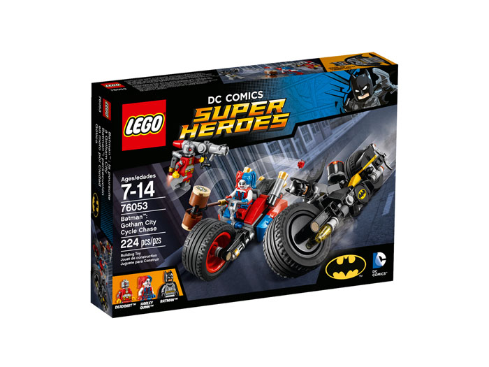 LEGO Super Heroes 76053 Batman Gotham City Cycle Chase
