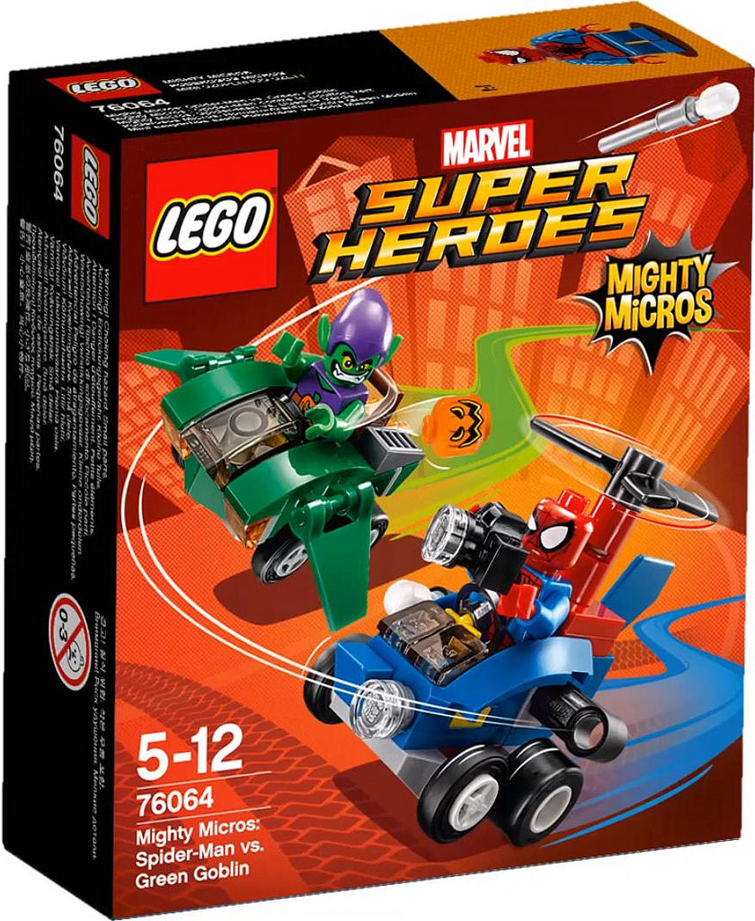 LEGO Super Heroes 76064 Mighty Micros SpiderMan vs Green Goblin