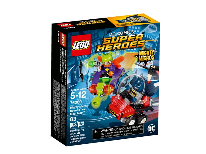 76069 Super Heroes Mighty Micros Batman vs Killer Moth