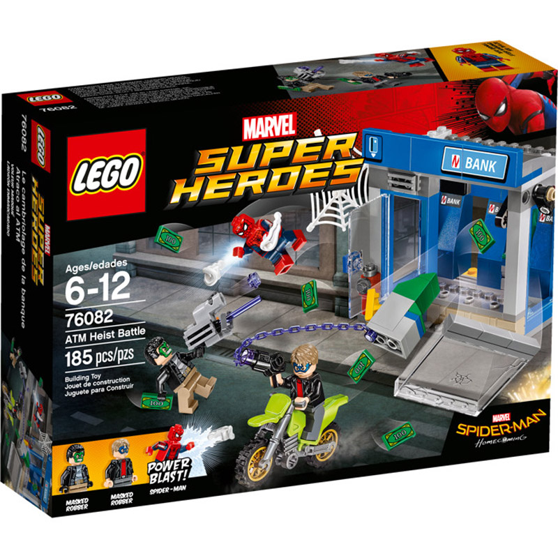 LEGO 76082 Spiderman ATM Heist Battle