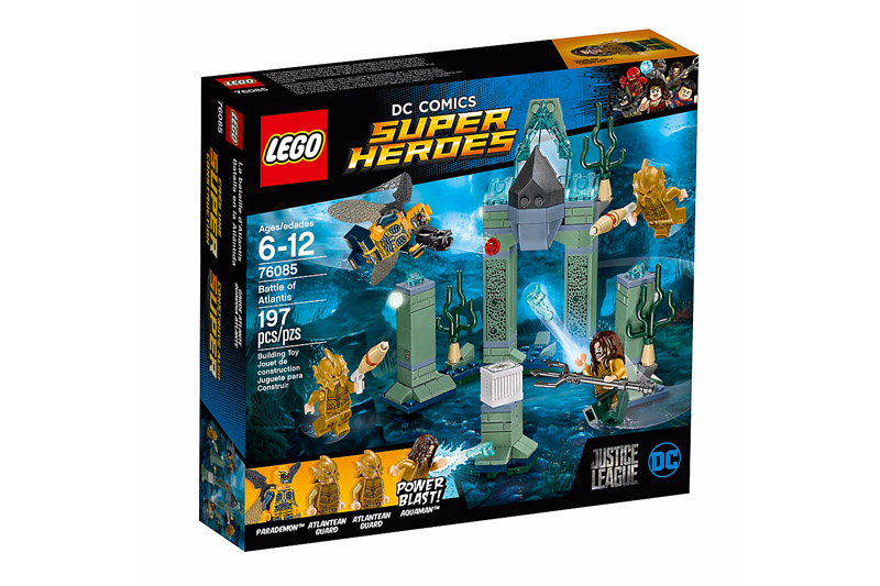 76085 Super Heroes Battle of Atlantis