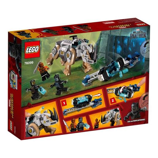 Super Heroes 76099 Rhino Face-Off by the Mine