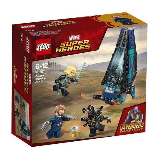 Super Heroes 76101 Outrider Dropship Attack