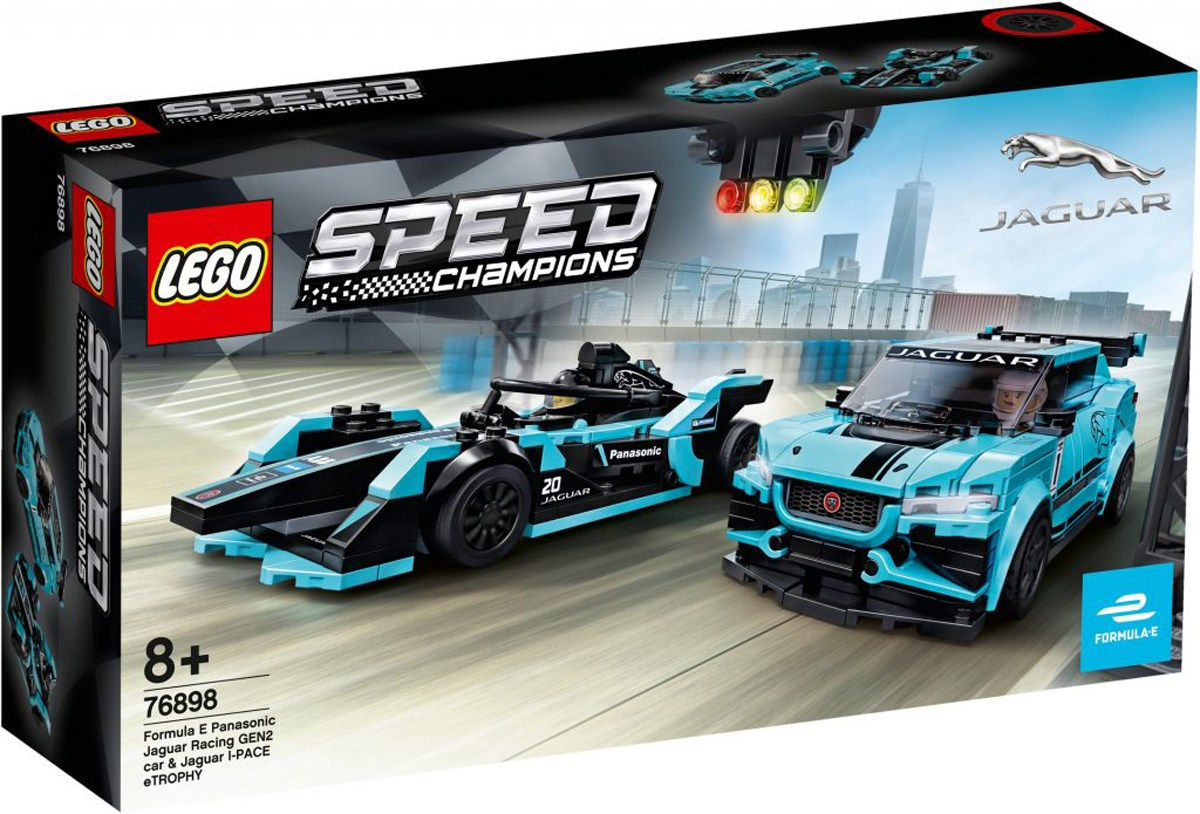 Speed Champions 76898 Formula E Panasonic Jaguar Racing GEN2 ca