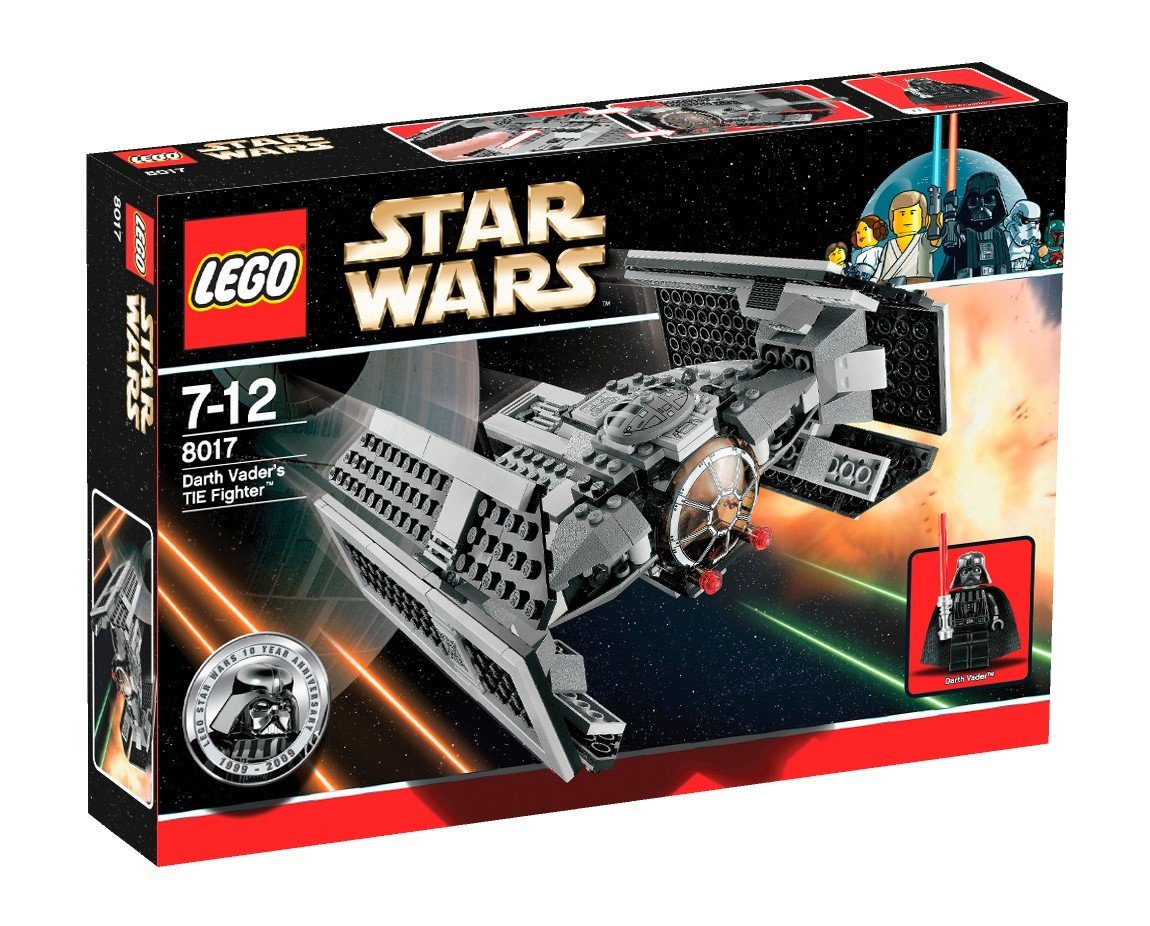 LEGO STAR WARS 8017 Darth Vaders TIE Fighter