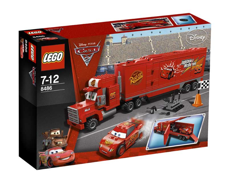 LEGO® Cars™ Macks Team Truck™ 8486