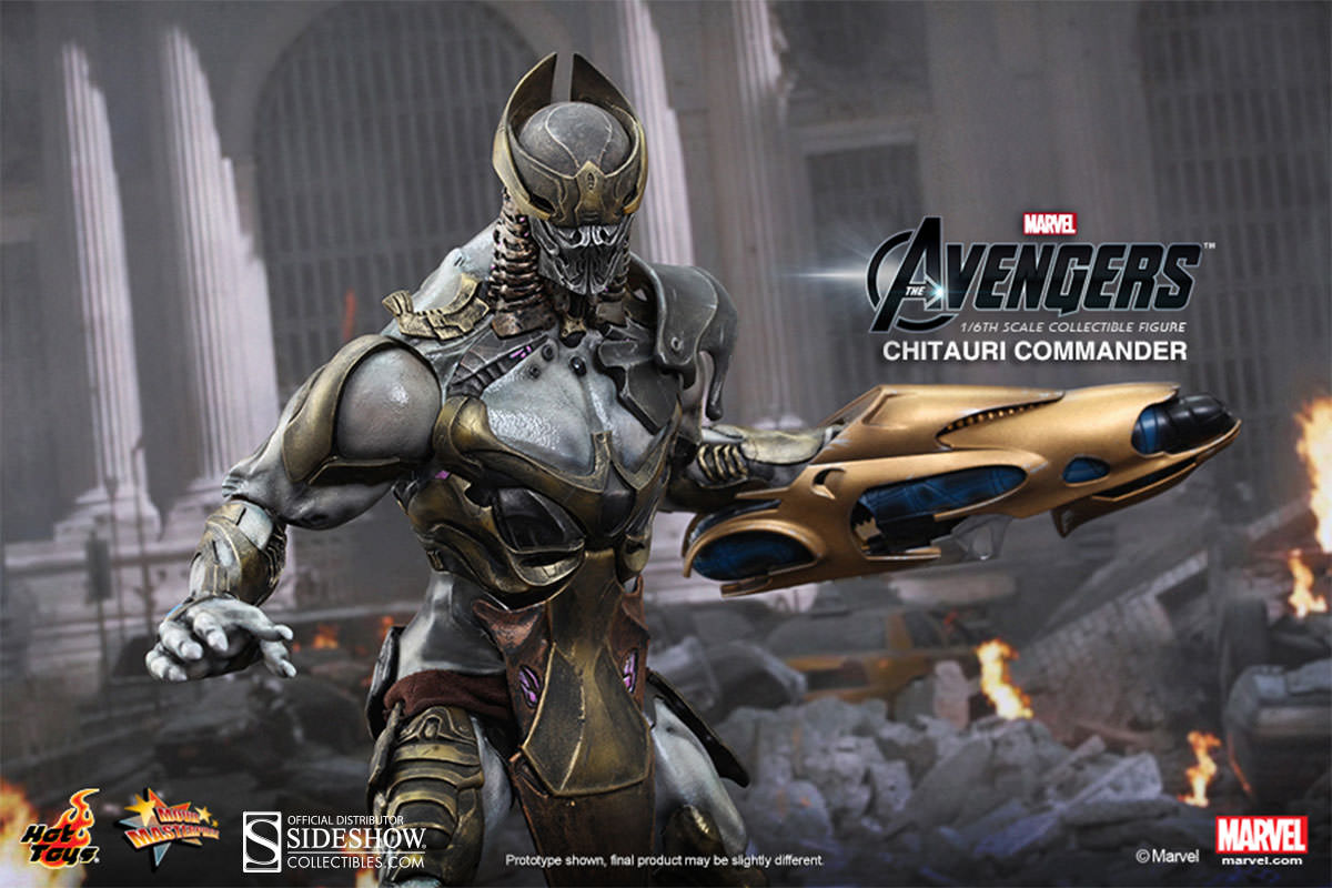 The Avengers Chitauri Commander by Hot Toys