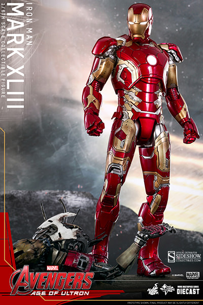 Age of Ultron Iron Man Mark XLIII 43 Hot Toys MMS278
