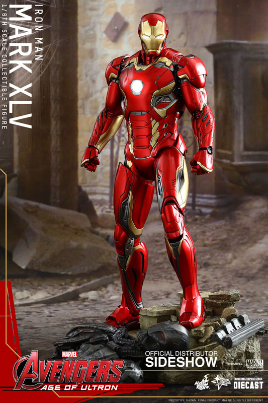 Avengers Age of Ultron Iron Man Mark XLV 45 Sixth Scale Hot Toys