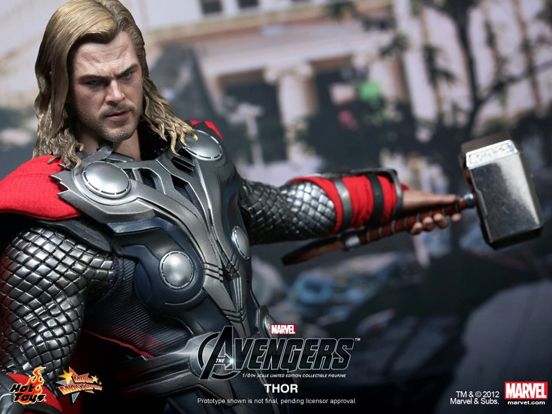 The Avengers Thor Hot Toys