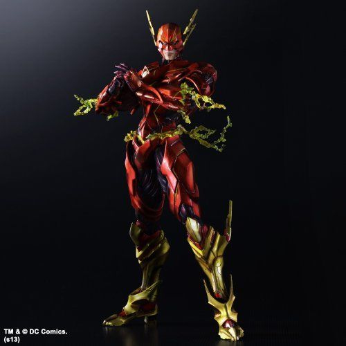 Play Arts KAI Variant DC Comics The Flash Action Figure
