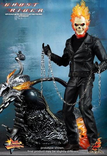 Ghost Rider with Hellcycle Hot Toys Limited Edition