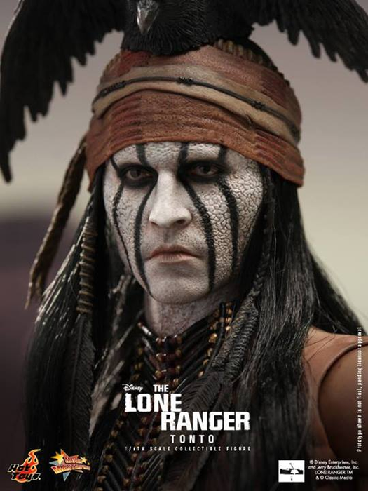 The Lone Ranger Tonto Hot Toys