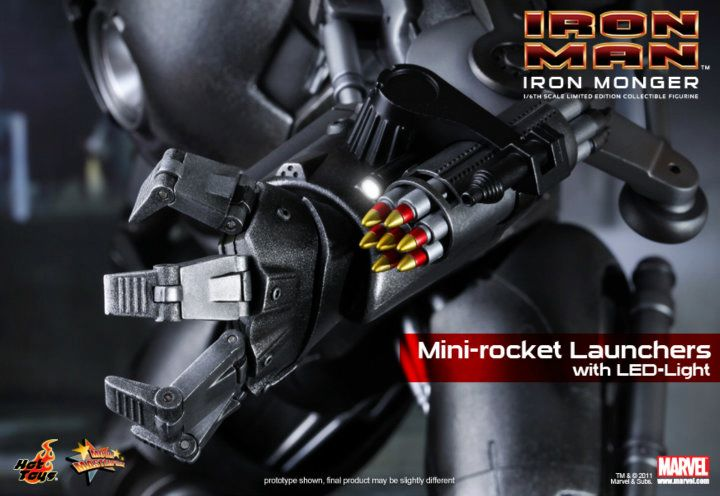 Iron Monger Hot Toys 1/6th Scale Collectable