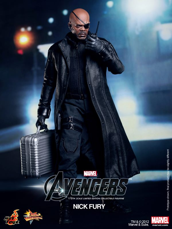 The Avengers Nick Fury Hot Toys