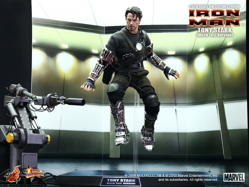 "Tony Stark 12"" collectible figure (Mech Test Version)"