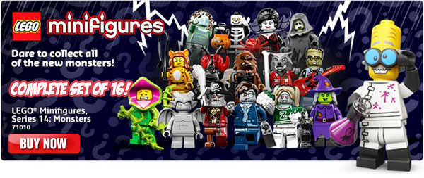 LEGO Minifigures Series 14 Complete Set of 16