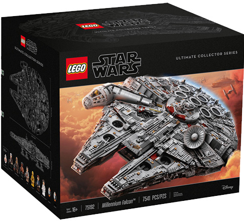 Exclusive Set!MILLENNIUM FALCON UCS shop now!