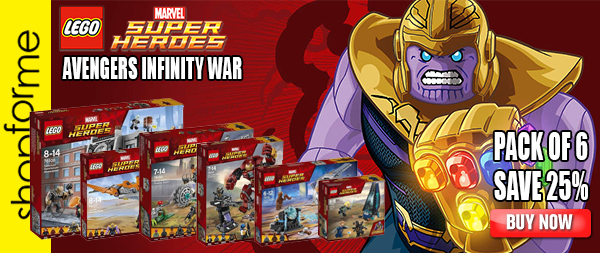 Super Heroes Avengers Infinity War Pack of 6