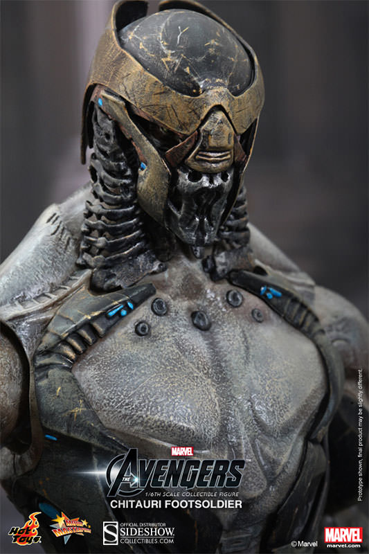 The Avengers Chitauri Footsoldier Hot Toys