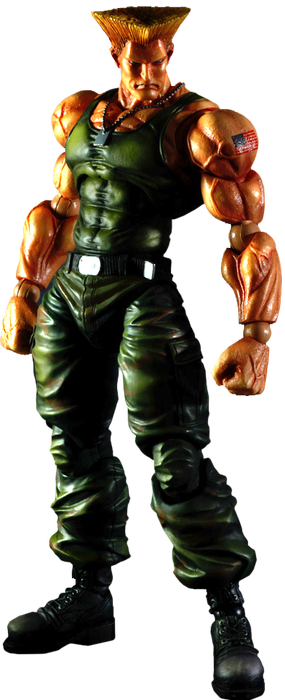 Street Fighter 4 - Guile Play Arts Figure
