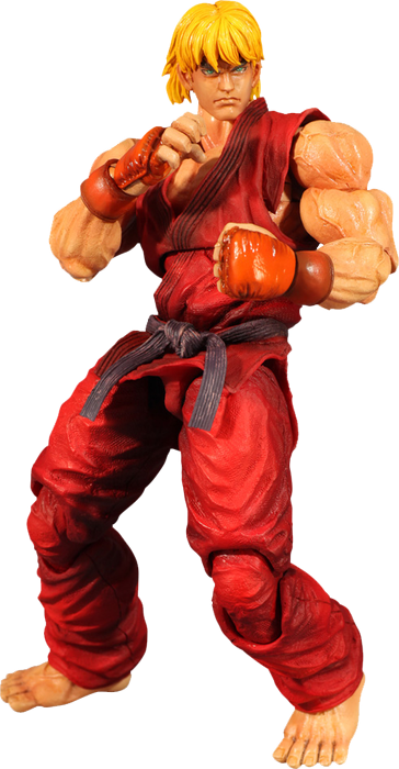 Street Fighter 4 - Ken Play Arts Figure