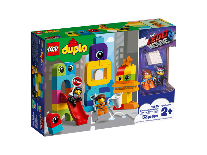 LEGO® Movie 2 10895 Emmet and Lucys Visitors from the DUPLO
