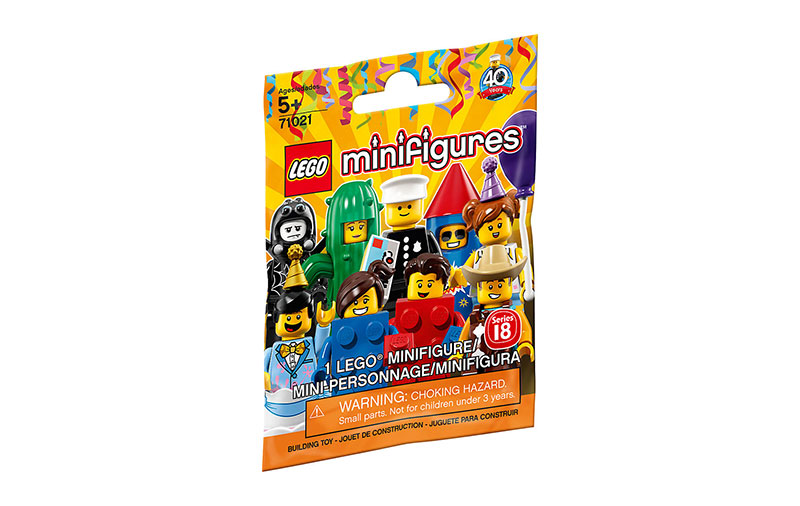 LEGO Minifigures 71021 Series 18 Complete Set of 16
