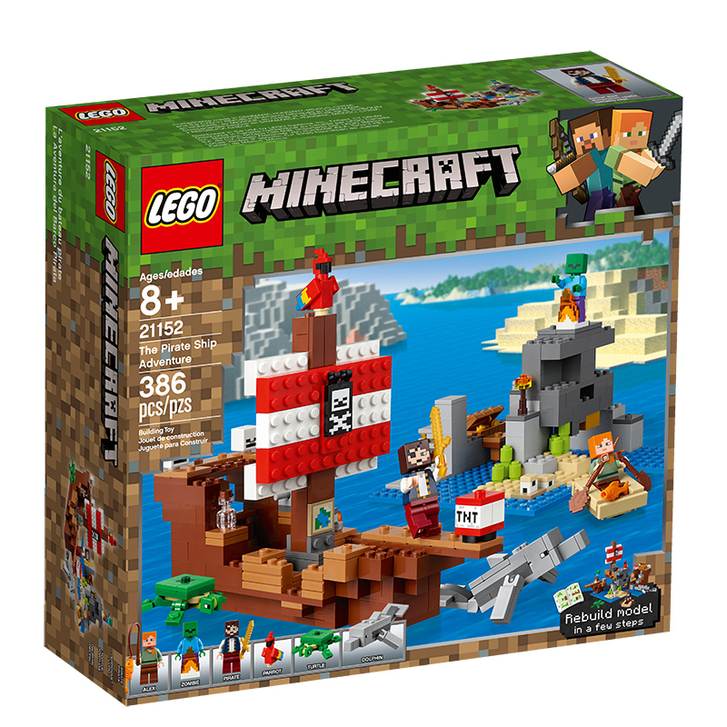 Minecraft 21152 The Pirate Ship Adventure