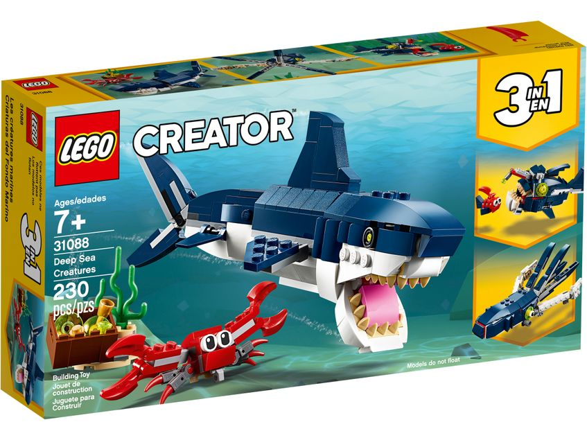 LEGO® 31088 Deep Sea Creatures
