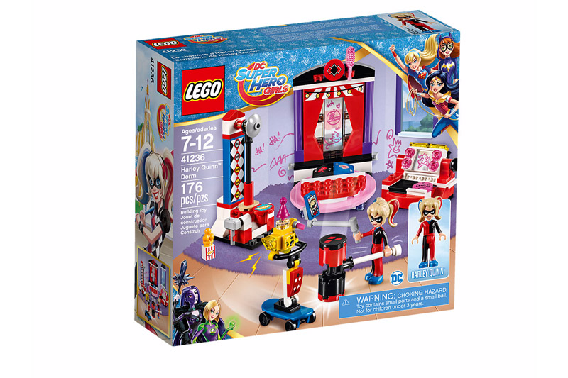 LEGO® 41236 DC Super Hero Girls Harley Quinn Dorm