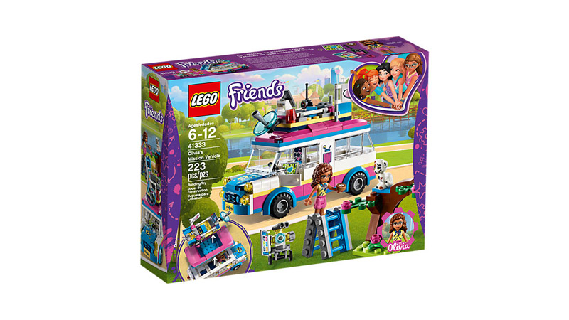 LEGO 41333 Friends Olivias Mission Vehicle