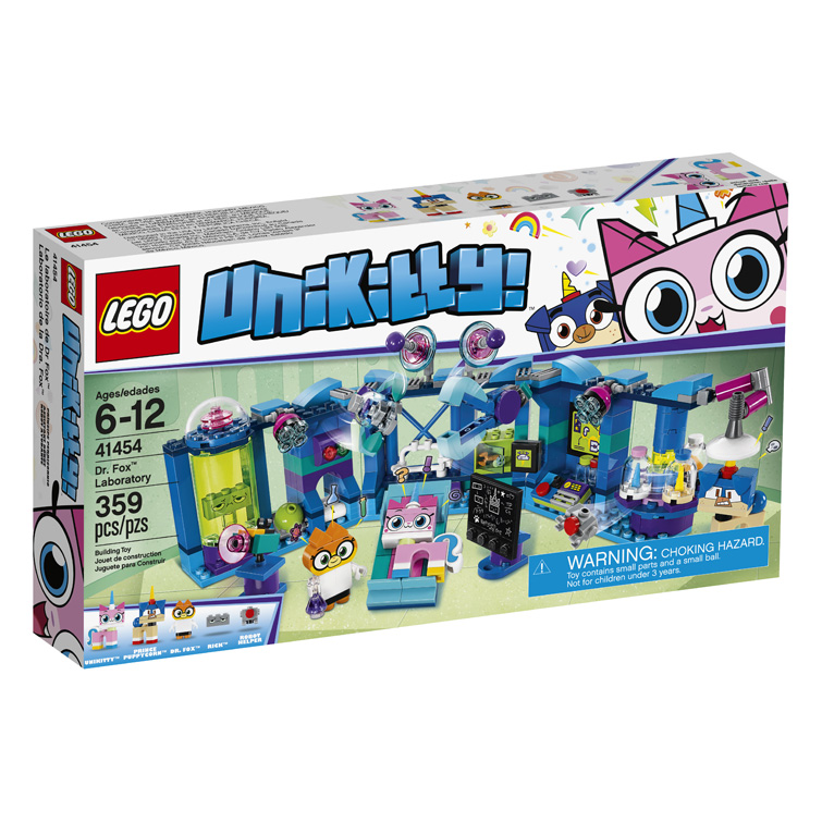 Unikitty 41454 Dr Fox Laboratory