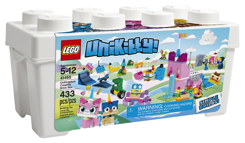 Unikitty 41455 Unikingdom Creative Brick Box
