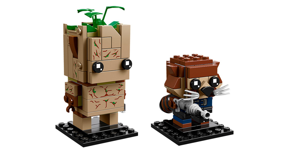 BrickHeadz 41626 Groot and Rocket