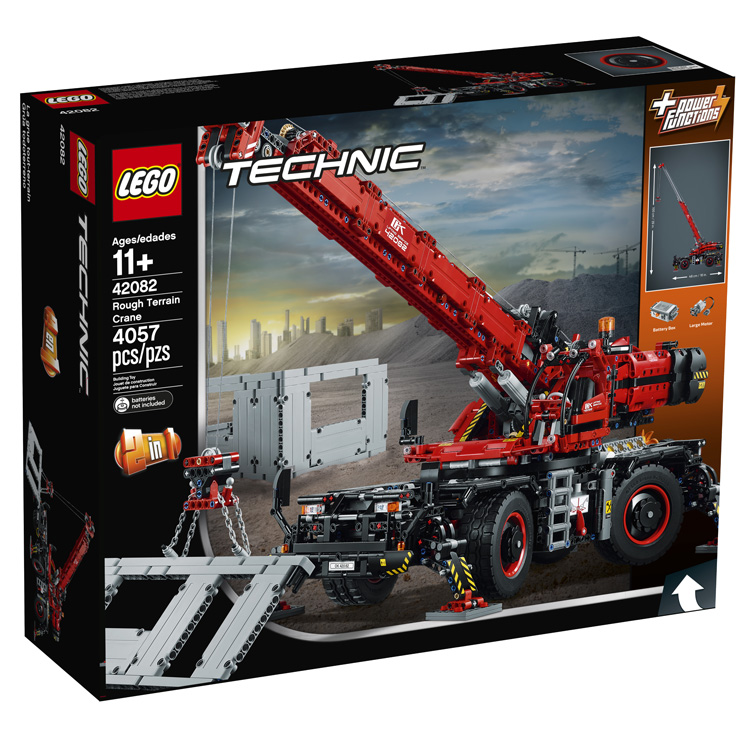 Technic 42082 Rough Terrain Crane