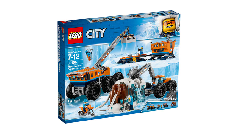 CITY 60195 Arctic Mobile Exploration Base