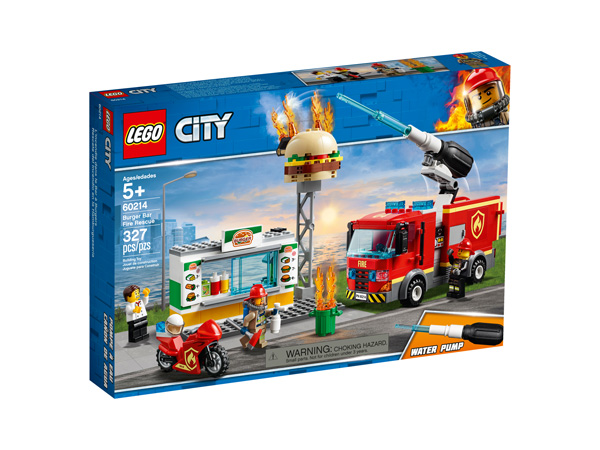 CITY 60214 Burger Bar Fire Rescue