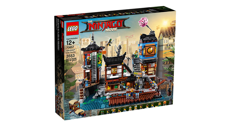 NINJAGO® 70657 City Docks