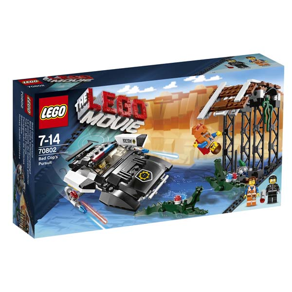 The LEGO Movie 70802 Bad Cops Pursuit