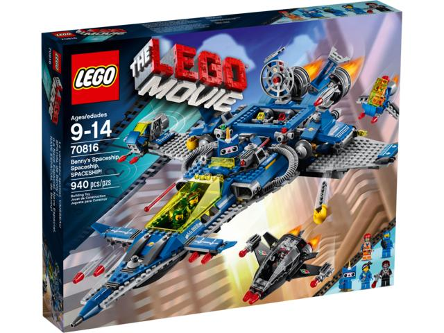 The LEGO Movie 70816 Bennys Spaceship