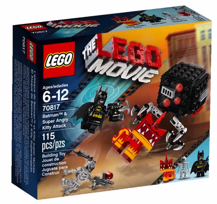 The LEGO® Movie 70817 Batman and Super Angry Kitty Attack