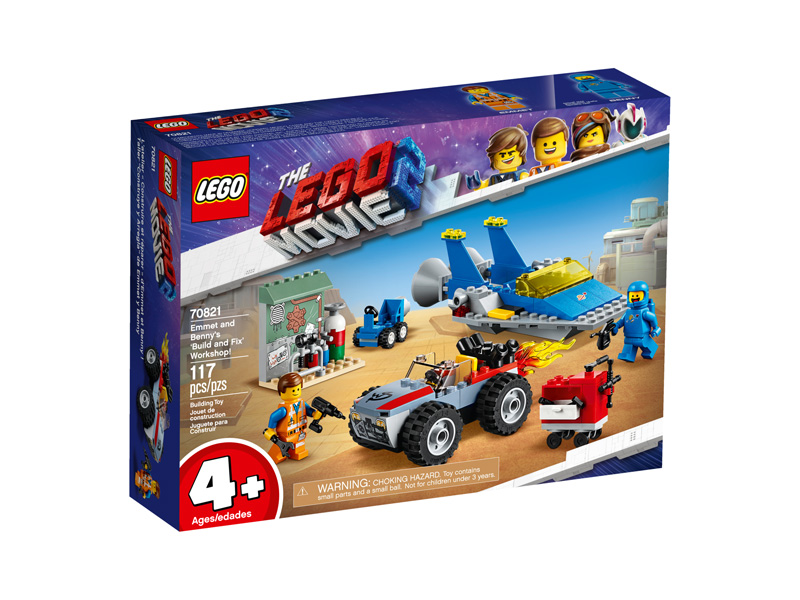 LEGO® Movie 2 70821 Emmet and Bennys Build and Fix Workshop