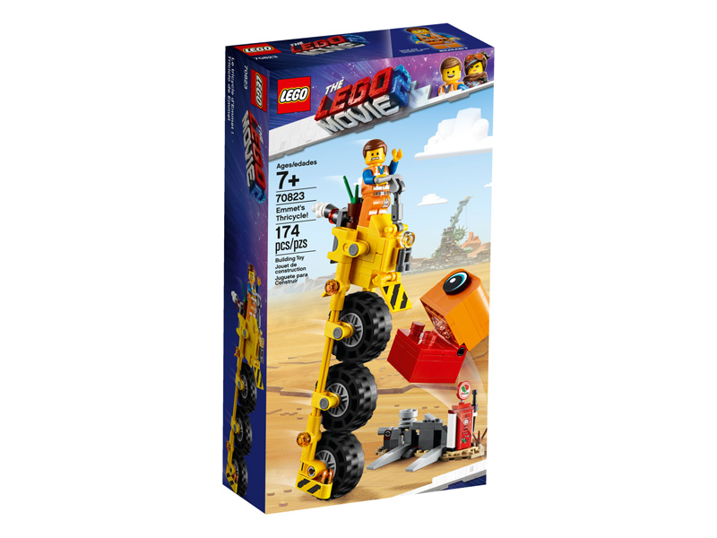 LEGO® Movie 2 70823 Emmet's Thricycle